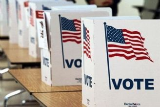 مشاركت سیاسی در انتخابات آمریكا چه میزان است؟