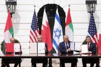 توافقنامه اعراب با اسرائیل؛ جشن سیاه در کاخ سفید