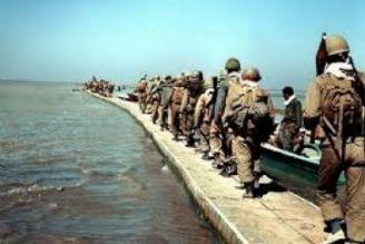 پل شناور هورالعظیم در عملیات خیبر ظرف 18روز ساخته شد