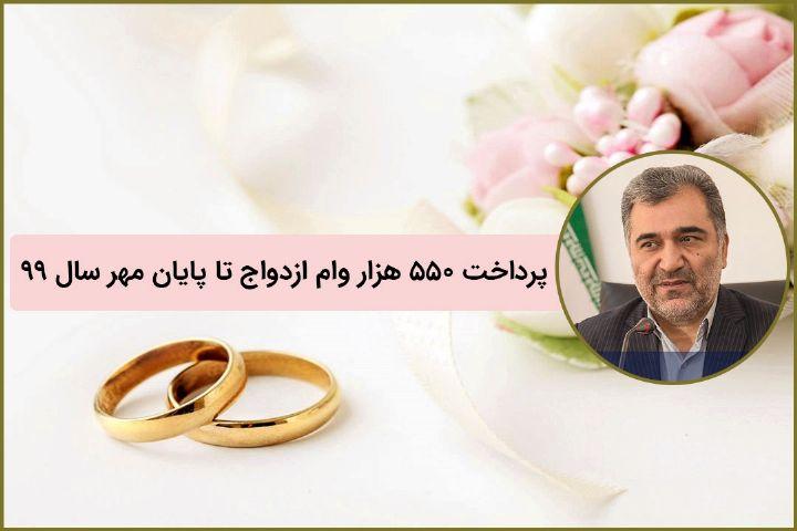 اختصاص بیش از 95 درصد منابع قرض الحسنه بانکی به وام ازدواج+فایل صوتی