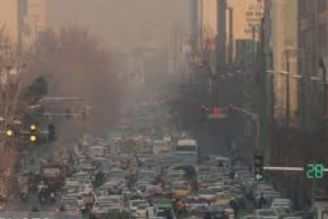 تشدید آلودگی هوای تهران و هشدار وزارت بهداشت