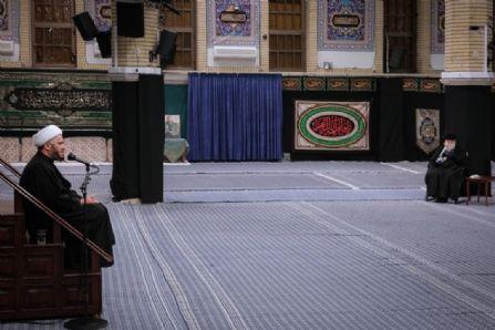 عزاداری شام شهادت حضرت زهرا (سلاماللهعلیها) در حسینیه امام خمینی