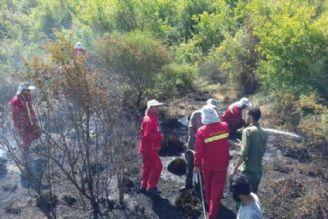 آتش سوزی در میانکاله مهار شد