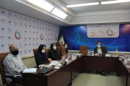 جلسه مدیران اجرایی رادیو اقتصاد