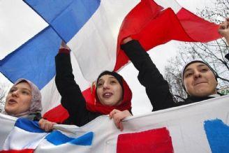 پویش مسلمانان فرانسه در اعتراض به ممنوعیت حجاب