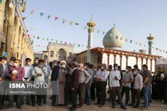 جشن انتخابات شیرازی ها با حضور در پای صندوق های رای