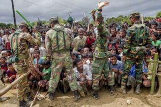 اذیت و آزارهای ارتش میانمار علیه مسلمانان همچنان ادامه دارد