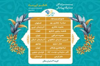 اسامی برندگان مسابقه پیامکی روز ششم تیر طرح ملی قرآنی 1455