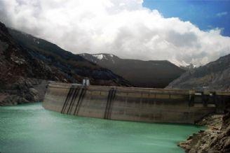 ذخیره سدهای تهران به 704 میلیون مترمكعب رسید
