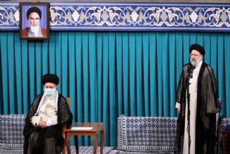محور سخنان  حجت الاسلام ابراهیم رییسی در مراسم تنفیذ حکم ریاست جمهوری