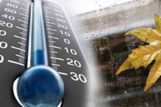 کاهش دمای هوا برای روزهای پایانی هفته