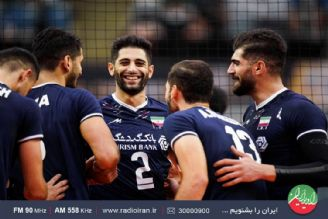 موفقیت چشمگیر بلند قامتان والیبال ایران در رقابت های قهرمانی آسیا