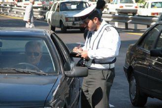 افزایش 5 درصدی میزان مبالغ جرایم رانندگی از ابتدای امسال